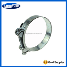 Factory direct sale iron corrugated pipe hose clamp
