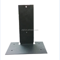 ODM stamping part with black color , metal stamping factory