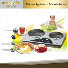 hot sale electric 2 burner solid cast iron hot plate