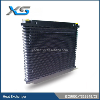 aluminum ,shell type ,water coolered radiator ,heat exchanger for converter of wind power