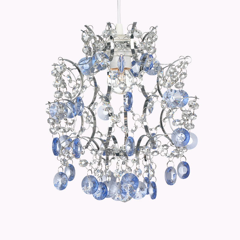Easy Fit Pendant Shade Chandelier Crystal Droplets Light - Buy ...