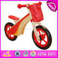 Hot new product for 2015 Kids wooden bike,high quality wooden toy children bike,hot sale baby wooden balance bike toy W16C086-A1
