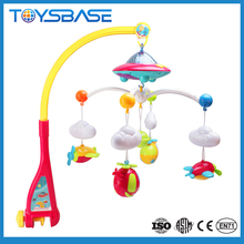 Projector light plastic crib mobile baby musical hanging toys