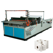 Automatic industrial tissue roll machine