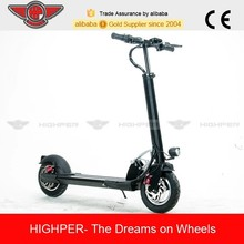 250W alloy folding 2 wheel electric scooter with 10'' tire (HP109E-C)