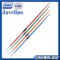 IAAF Certification High quality track & field sports equipment training & competition javelin, Aluminum Alloy javelin