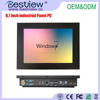 "Factory price J1900 Fanless Quad cores IPS screen 10"" inch touch all in one PC"