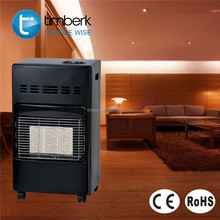 Natural gas radiant heater with 3 power mode