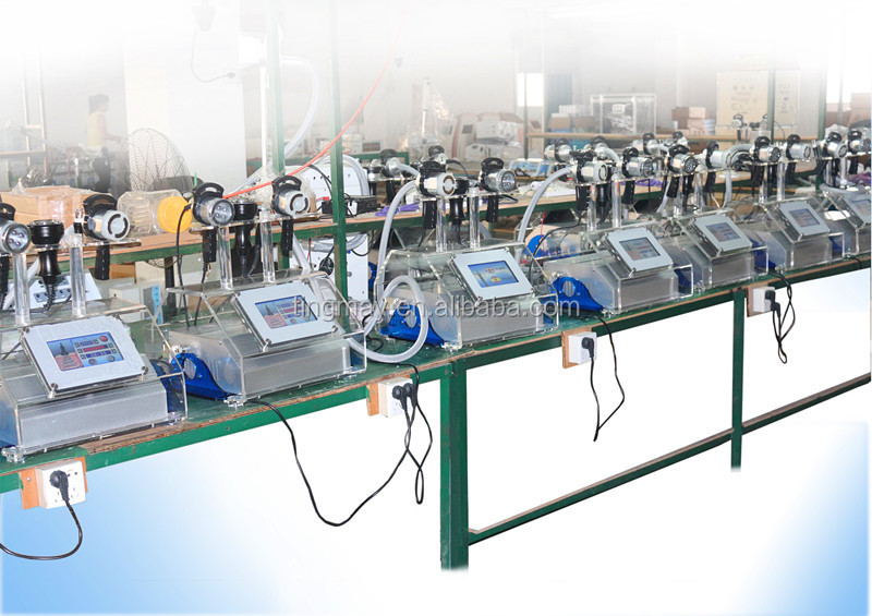 Ultrasonic rf vacuum cavitation machine fat slim