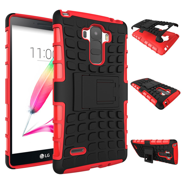 Armor Rugged Case Cover with Stand for LG G4 Stylus ls770