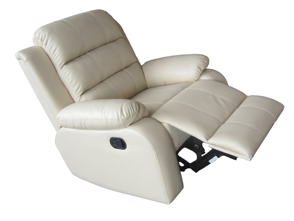 Popular luxury pu leather recliner sofa with fine workmanship