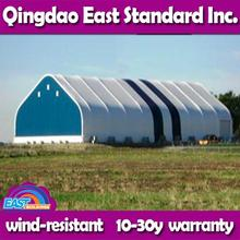 East Standard low cost portable steel carport instant steel frame warehouse
