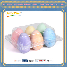 6pcs color EGG CHALK
