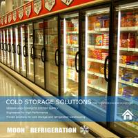 Factory supply supermarket refrigerator and freezer