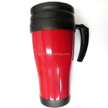 bulk plastic coffee mugs/plastic mug with handle and lid