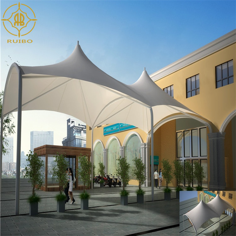 new arrival architecture membrane fabric roof canopy for landscape