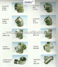 Forged fittings/high-pressure Forged Steel Pipe Fitting/elbow