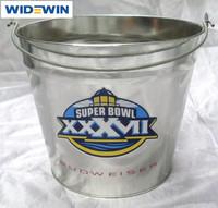 Wholesale Ice Cooler 5L Metal Beer Bucket Galvanized Metal Ice Bucket