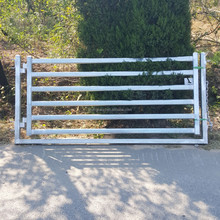 HDG horse round yard panel products made in china