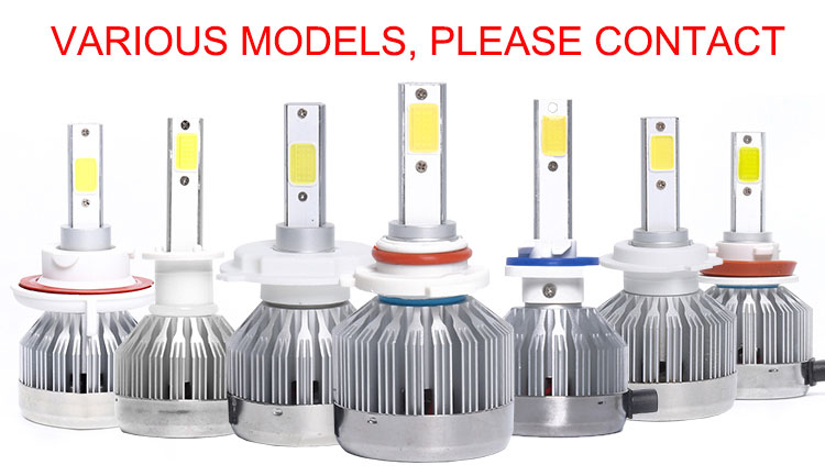 Auto lighting system LED headlight h4 6000k L1 H1 H3 H7 H8 H10 H11 H13 880 H4 led lights cars 30w led headlamp