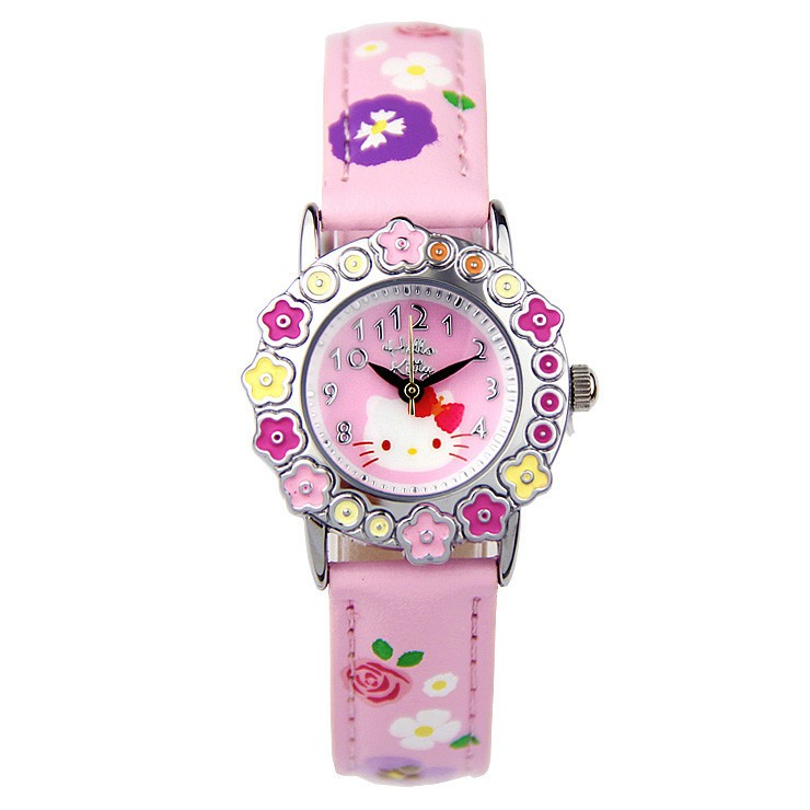 LongBo 2016 new arrival full printing Hello Kitty Adventure Time Kids' Watches