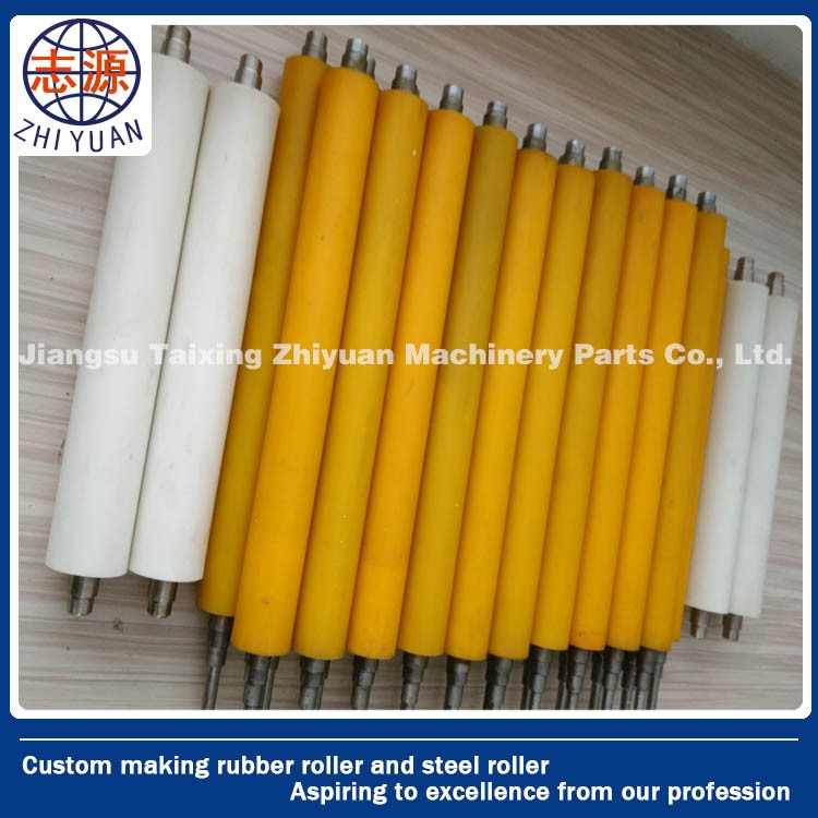 Printing Machine NBR Rubber Roller Manufacturer & Wooden, printing etc