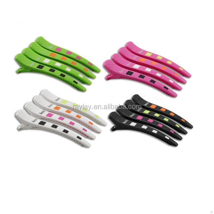 Fashion Best-Selling plastic clip hair grip bobby pin