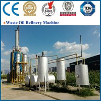 85% oil yield Eco-friendly fast delivery Waste Oil Distillation Machine to diesel