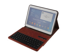"10"" inch tablet pc leather case bluetooth keyboard for samsung galaxy tab 4 T530/T531 from china-SA207F"