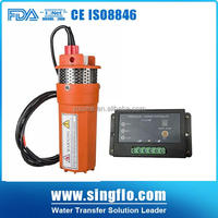 9300 6LPM solar powered irrigation pump with controller
