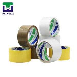 High Adhesion Brown Acrylic Adhesive BOPP Packing Tape