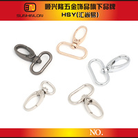 wholesale metal zinc alloy cheap coin purse snap hook