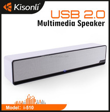 High quality TV Sound Bar Speaker Mini USB Speakers for Laptop