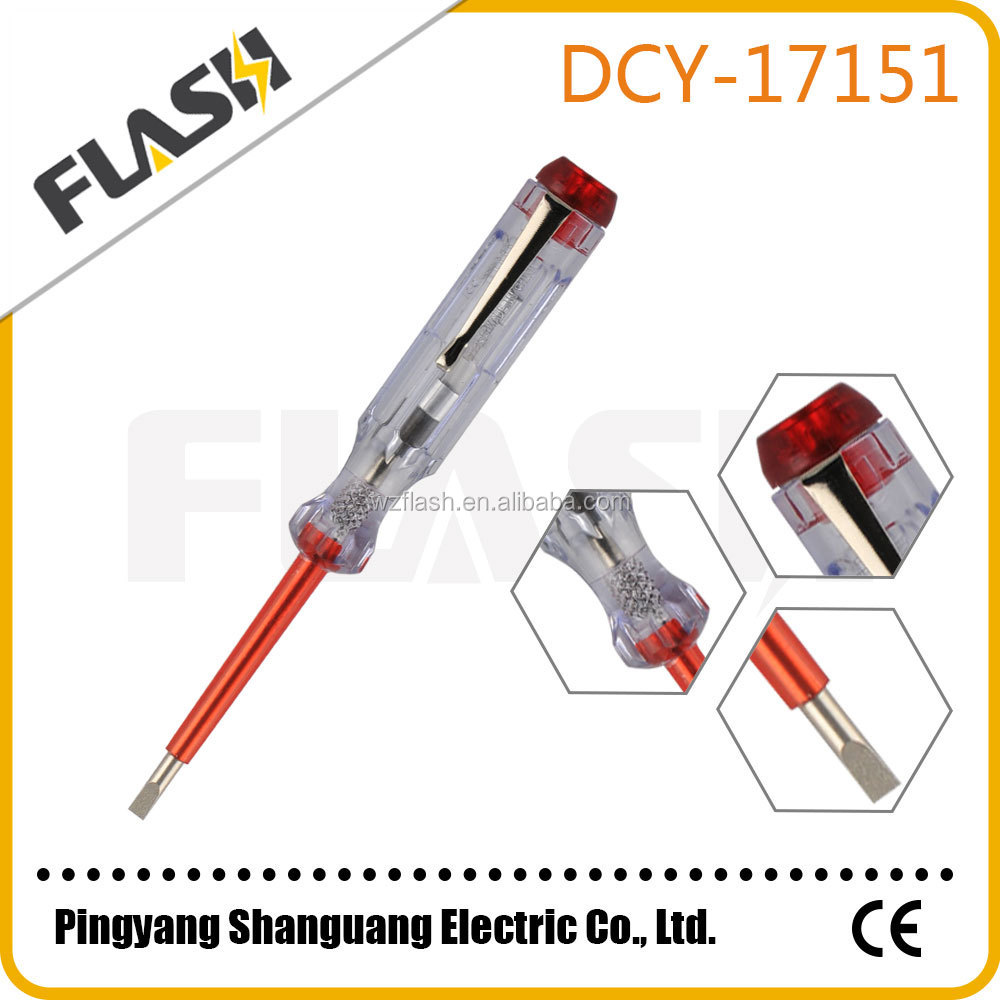 Hot selling screwdriver tester pen electric test pen voltage tester