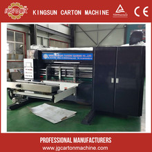 flexo equipment for printing ink machine with pressing slicing corner slotting and die cutting