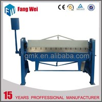 New coming Fast Delivery steel rule manual bending machine