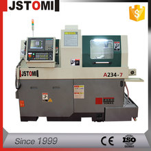 A234-7 New High Speed Swiss Type CNC Auto bar Feeder Lathe