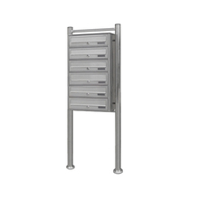 Outdoor Stainless Steel Apartments Free Standing Mailboxes