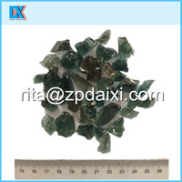 Landscaping the garden large decorative glass rock