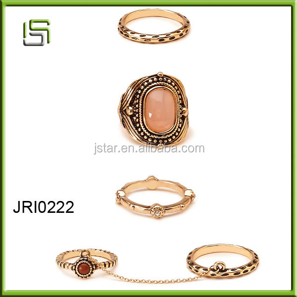 Charming new design cheap style jewelry ring