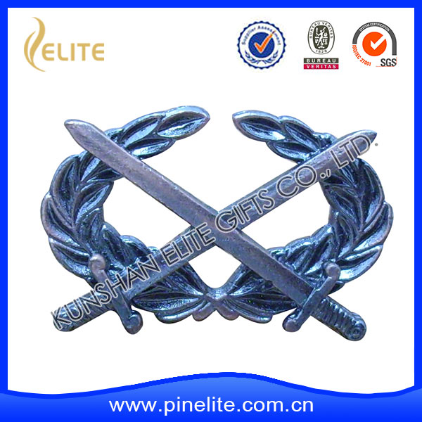 china supplier welcome custom your sword lapel pin,kia emblem for wholesale