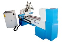 Good quality and useful TJ-1530 cnc wood turn-broaching engraving lathe