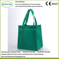 wholesale silk printing non woven carry bag