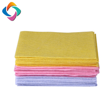 Germany needle-punched nonwoven cleaning cloth viscose polyester shammy cloth / household cleaning rags