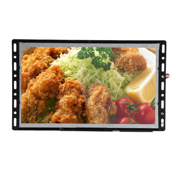 Battery power available 7 inch Electronic display screen with motion sensor