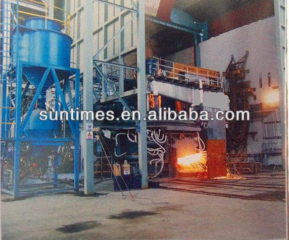 HX series three-phase1.5-150 tons electric arc furnace