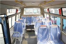long-term sincere partner Dongfeng bus manufacturer Euro 3 diesel mini bus DFA6550 with 18-25 seats high configuration