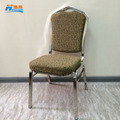 wholesale stacking metal stainless steel hotel furniture banquet dining chair