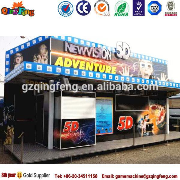 Coin pusher 7d theatre/7d theatre for children