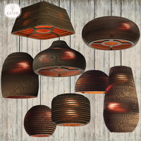 Caren Lighting Dining room modern paper honeycomb pendant lamp hot sales